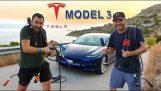 Tesla รุ่น 3 ในกรีซโดยแบ่งตามชนิดทำให้ roadtrip