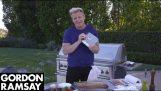 бургер рецепта Гордън Рамзи, за да отпразнуват своите 10 милиона абонати