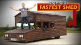 The fastest shed in the world
