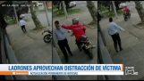 Overvallen op twee wielen: Een type diefstal zeer vaak in Bogota, Colombia