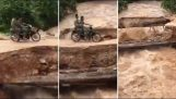 Motorcyclists Missing After Bridge Collapses In Cambodia
