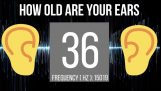 Hearing test – How Old Are Your Ears?