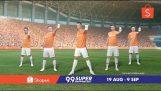 Cristiano Ronaldo in a weird Malaysian ad