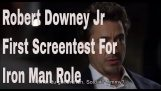 Robert Downey Jr First Audition for Tony Stark i Iron Man
