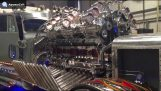24 cylinders, 12 superchargers, 3000 hp engine