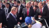Putin buys Erdogan an ice cream
