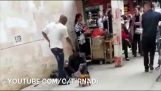 Bully gets knocked out