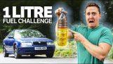 Hvor langt kan du køre med en liter diesel?