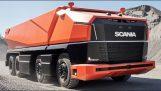 SCANIAはAXLを提示します: 最初の自律トラック