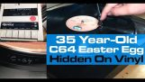 A 35-year-old easter egg on vinyl for Commodore 64