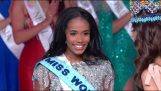 Miss Nigeria's amazing reaction (Miss World 2019)