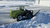 Radio Controlled Snow Plow