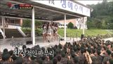Girl band SISTAR visits the Korean army