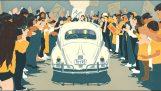 Volkswagen spune la revedere de la Beetle cu un film de animație
