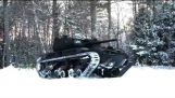粗齿锯M5: 电动, 遥控坦克