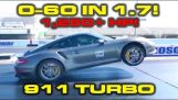 1,250 HP Porsche 911 Turbo – 0-100 km/h in 1.7 Seconds