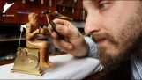 Building a small brass and wooden automaton