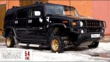 Hummer H2 with 13-inch wheels