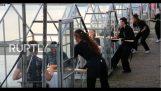 """Амстердамски ресторант създава """"мини оранжерии"""" да накара клиентите му да се чувстват в безопасност от вируса"""