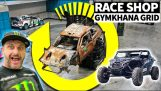 Ken Block challenges Travis Pastrana to a quarantine gymkhana