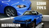 Complete restoration of a Honda S2000 Type S