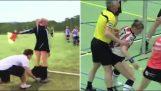 MOMENTO DIVERTENTE con REFEREE nel calcio | Calcio - (Per favore, cerca di non ridere troppo !!!! Risata fragorosa)