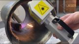 Metallerin lazerle temizlenmesi