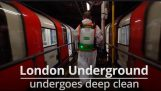 Banksy paints the London underground with the pandemic theme
