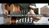 Evolution of guitar intros over the years
