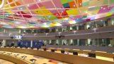 EU parliament gang style greet