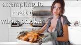 Lær hvordan du koker en kylling