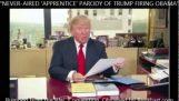 Trump 2016: obama, du är avskedad!