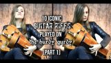 Iconic Guitar Riffs Played On The Hurdy Gurdy
