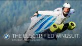 BMW creates an assist motor for wingsuits with which you can gain height and speed