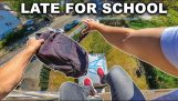 """""""Spóźniony do szkoły"""" parkour POV"""