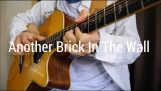 Another Brick In The Wall excellente couverture à la guitare