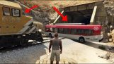 Can a train be stopped in GTA?