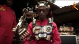 Kenyan engineers build a robotic arm that is controlled by the brain