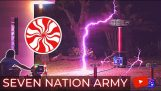 Tesla coils play Seven Nation Army