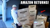 Buying some boxes of Amazon returned products