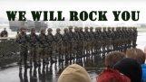 Te sacudiremos por el ejército suizo