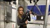Girl shoots a Barrett M107