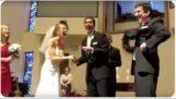 Les garçons d'honneur prétendent avoir perdu la bague de la mariée lors d'un mariage