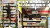 Un varan dans un magasin