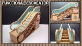 The paper escalator