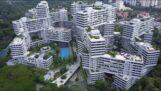 新加坡的现代公寓