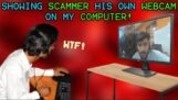 Blogger hackl podvodníky, kteří se ho pokoušeli oklamat, a ukázal jim obrázek z jejich vlastní webové kamery