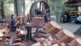 Tehlikeli ağaç kesme makineleri