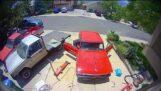 Restored 1963 Chevrolet Nova SS is knocked into neutral