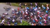 Major accident during the 1st stage of the Tour de France 2021